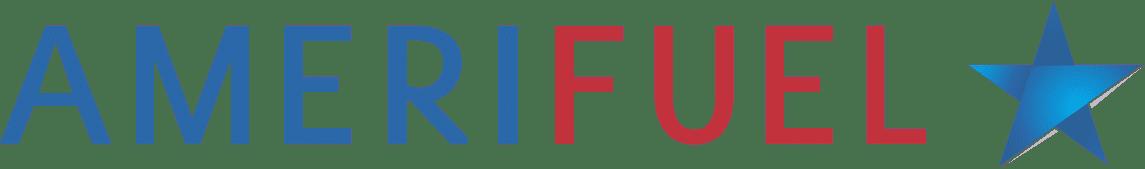 Amerifuel logo with a star logo image